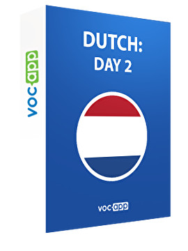 Dutch: day 2
