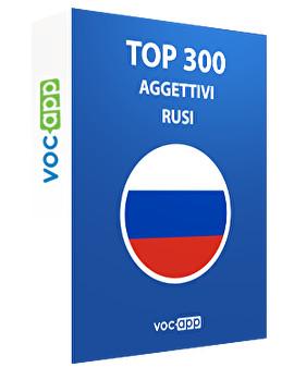 Top 300 aggettivi russi