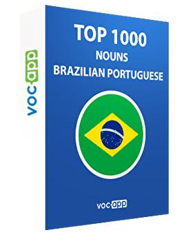 Brazilian Portuguese Words: Top 1000 Nouns