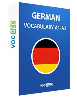 German A1 - A2 vocabulary