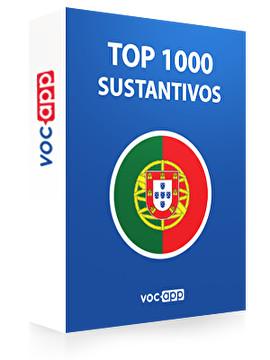 Sustantivos más importantes en portugués
