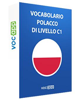 Vocabolario polacco di livello C1