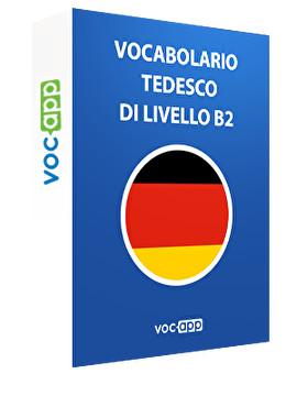 Vocabolario tedesco di livello B2