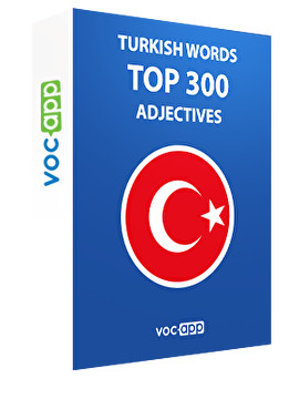 Turkish Words: Top 300 Adjectives