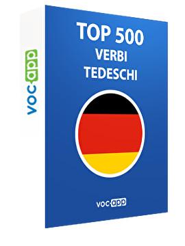 Top 500 verbi tedeschi