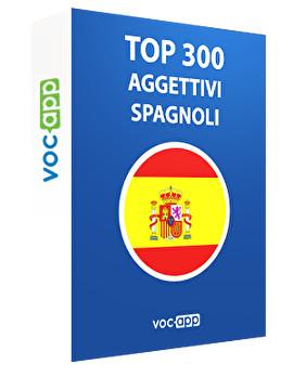 Top 300 aggettivi spagnoli