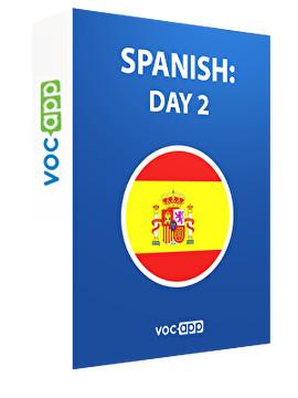 Spanish: day 2