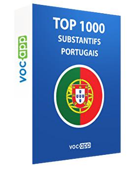 Top 1000 substantifs portugais