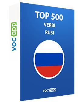 Top 500 verbi russi