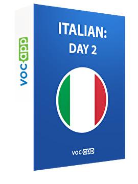 Italian: day 2