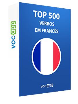 Top 500 verbos em francês