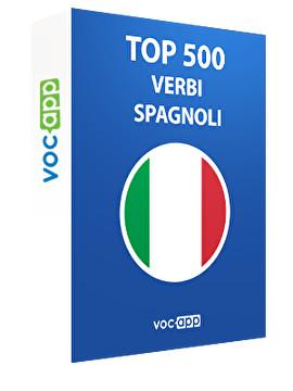 Top 500 verbi spagnoli