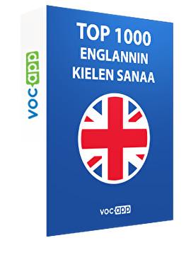 Top 1000 englannin kielen sanaa