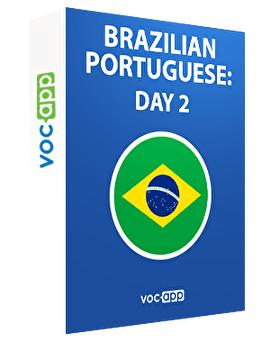 Brazilian Portuguese: day 2