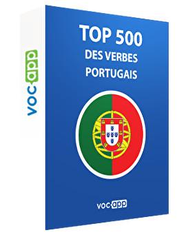 Top 500 des verbes portugais