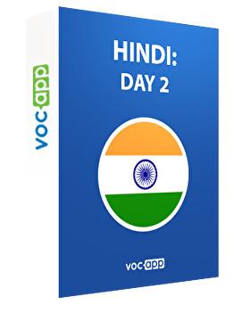 Hindi: day 2