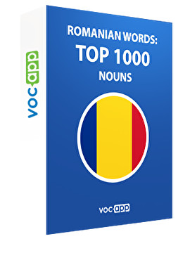Romanian Words: Top 1000 Nouns