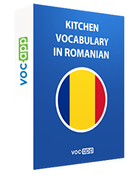 Kitchen vocabulary in Romanian