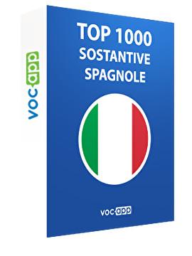 Top 1000 sostantive spagnole